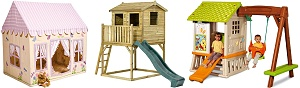 Garden Play And Toys - Save on playhouses and climbing frames this summer with the kids window.
